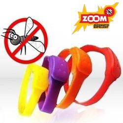 Pulseras Antimosquitos ZOOM Naranja